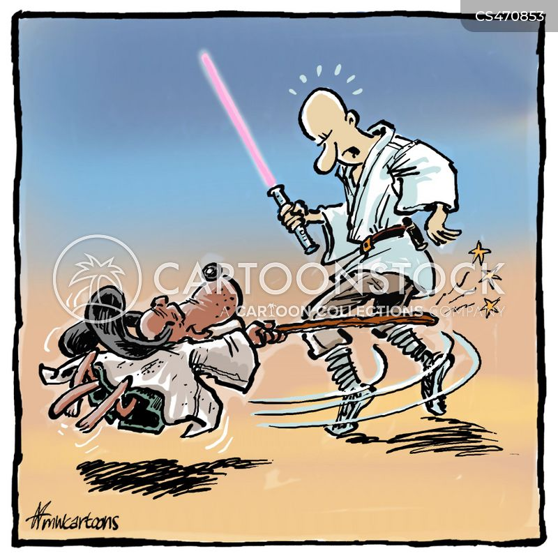 sword-fights cartoon