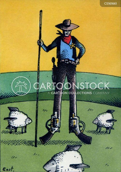 lawmen cartoon