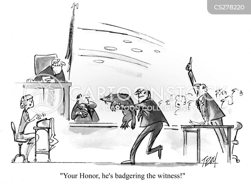 badgers cartoon