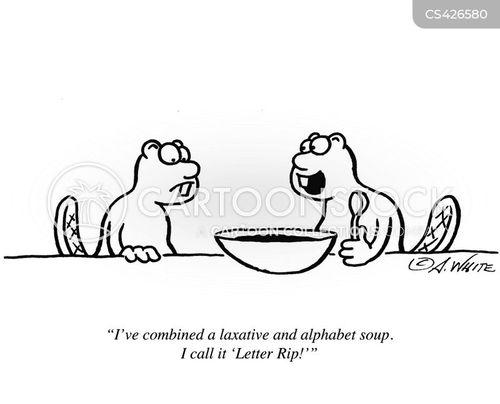 alphabet soups cartoon