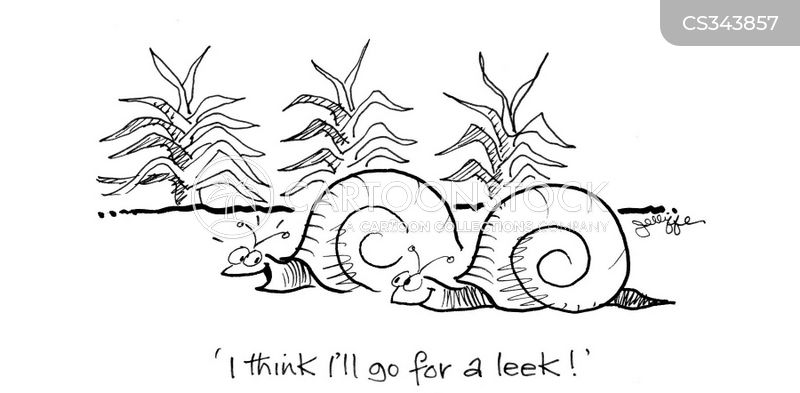 leek cartoon