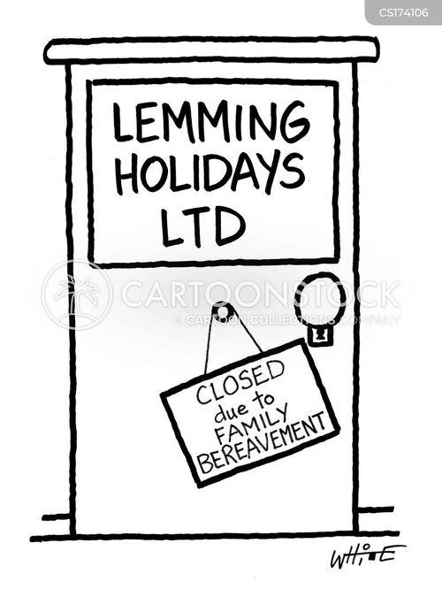 lemmings cartoon