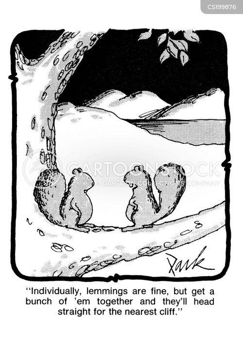 habitats cartoon