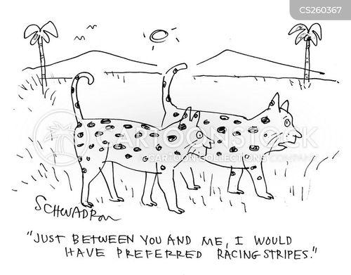 racing stripe cartoon