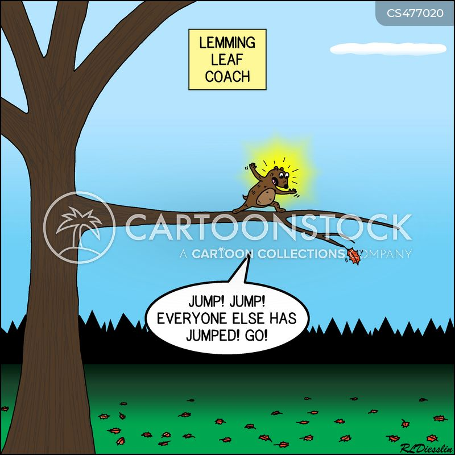 falling leaf cartoon