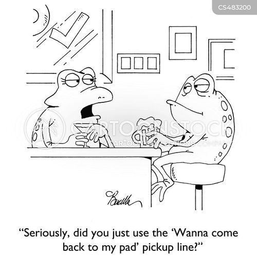 lilypads cartoon