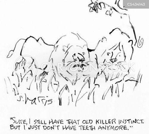 lion pack cartoon