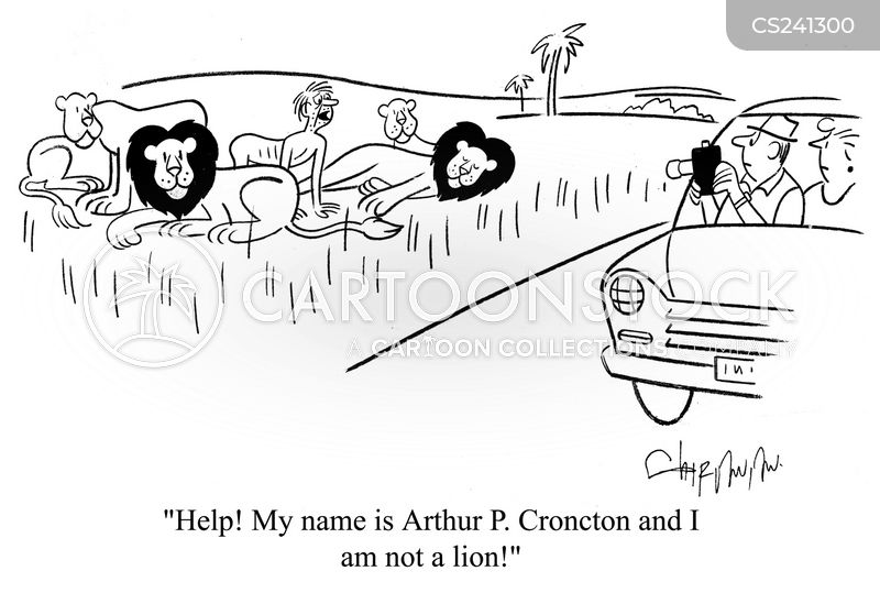 identified cartoon
