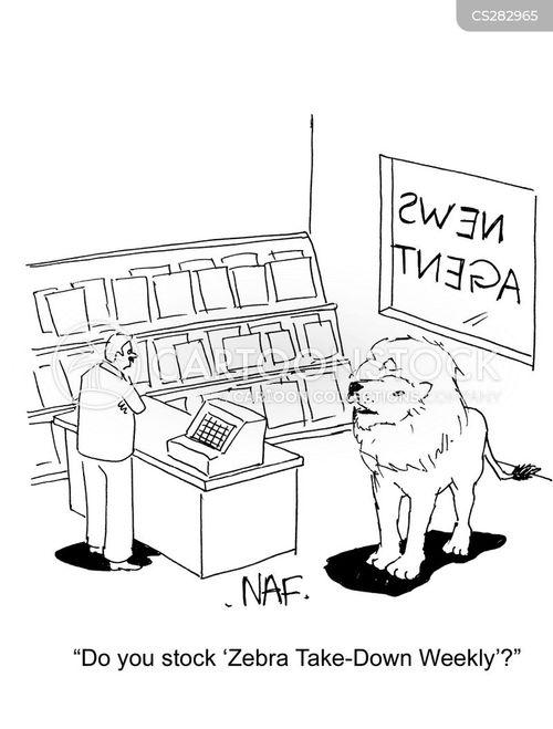 newsagent cartoon