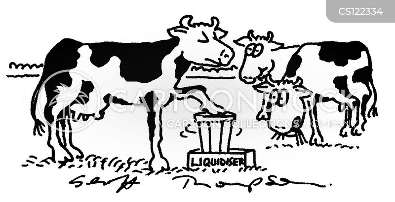 liquidiser cartoon