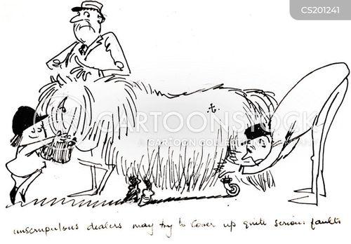 horse dealers cartoon