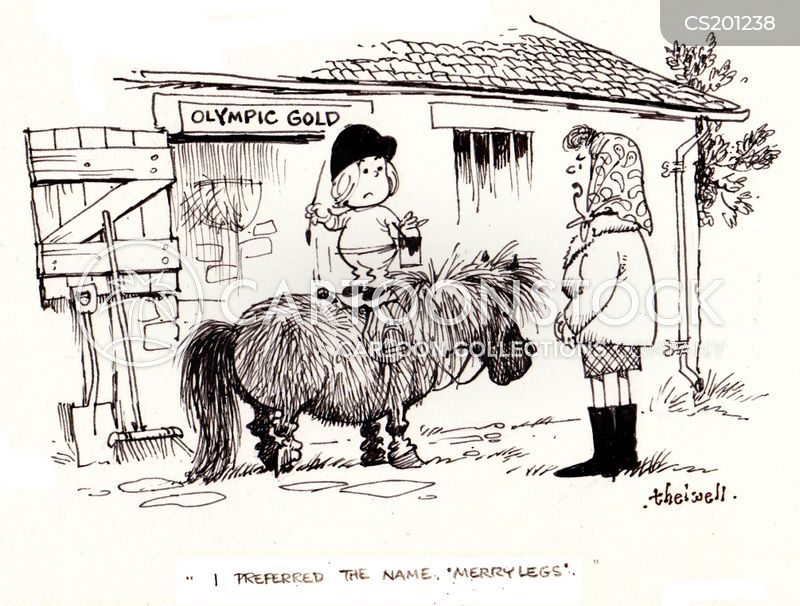 bridleway cartoon