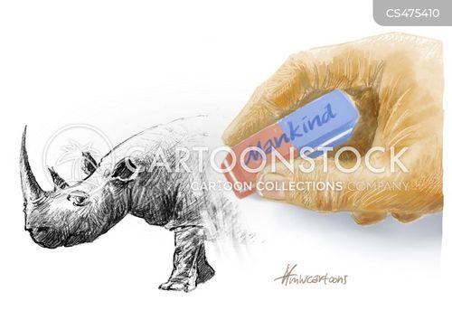 wildlife activist cartoon