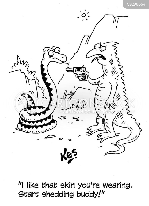 snake skin cartoon