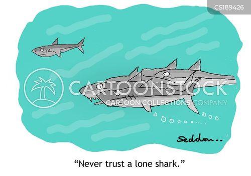 loan sharks cartoon