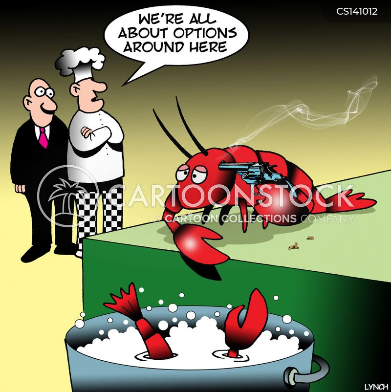 lobster pots cartoon