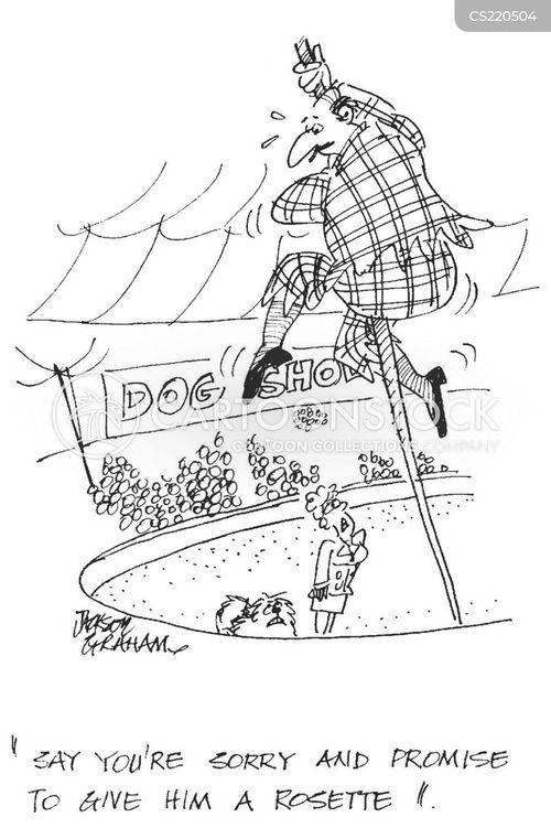 rosettes cartoon
