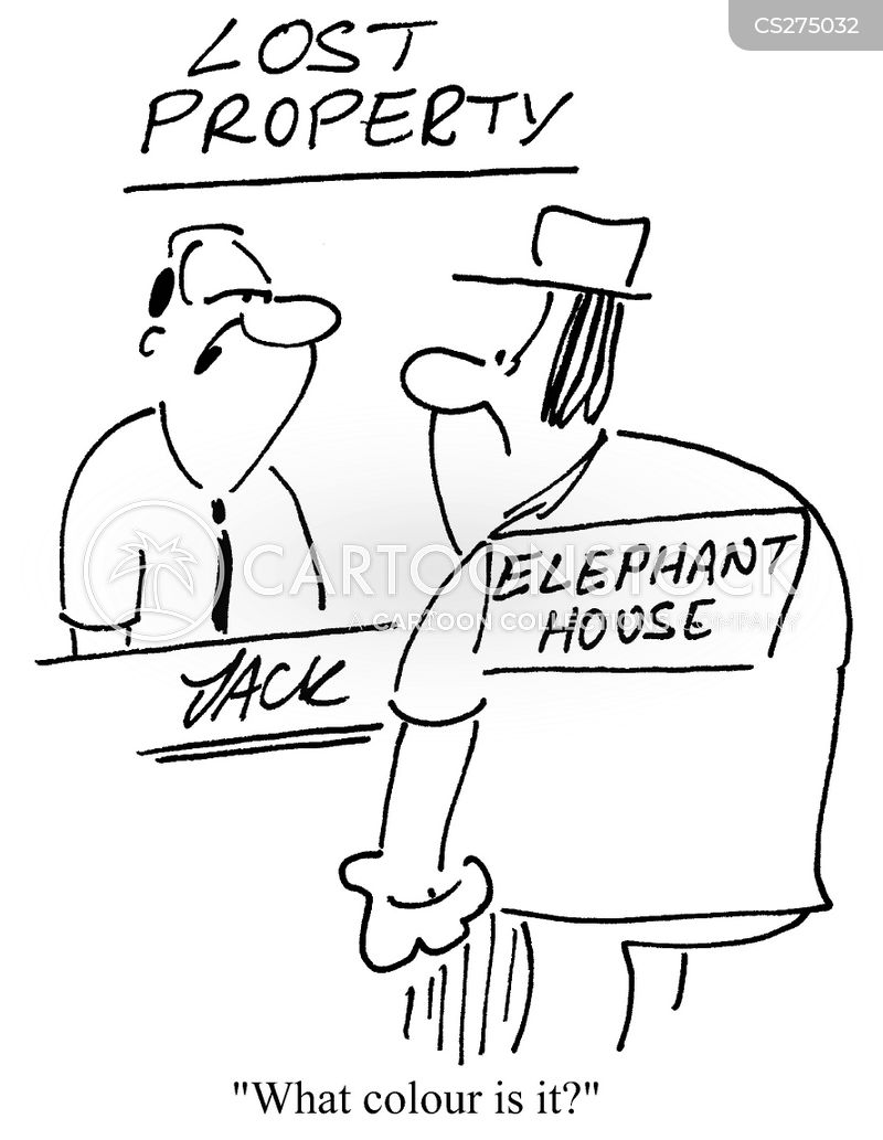 elephant houses cartoon