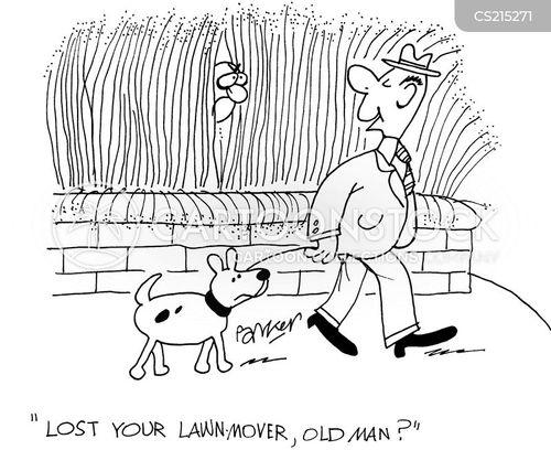 long grass cartoon