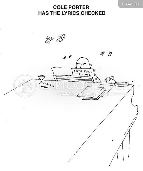 cole porter cartoon