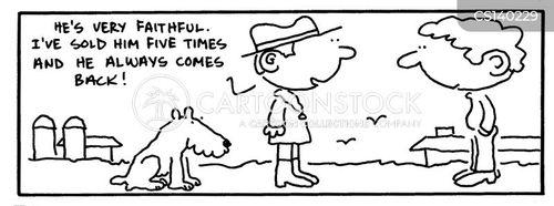 dog breeding cartoon