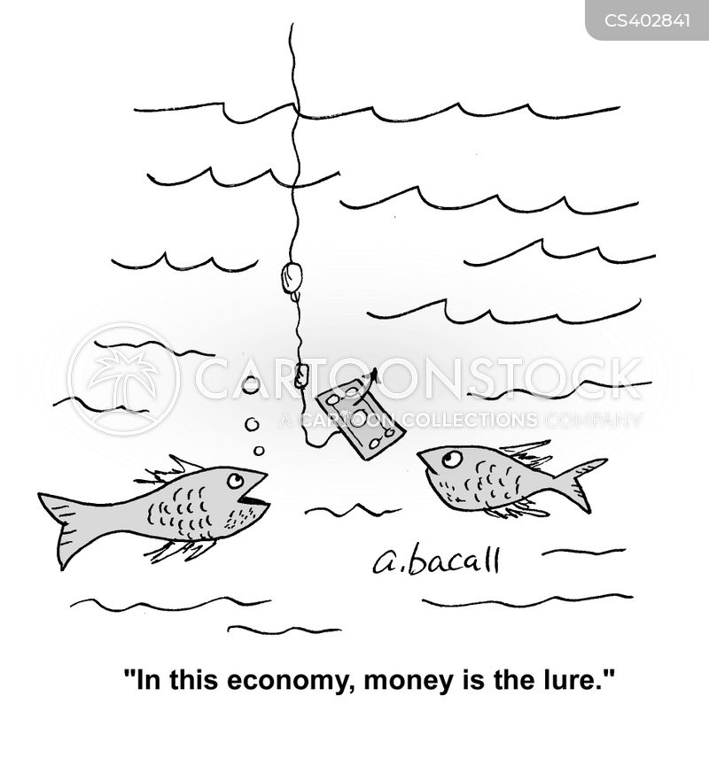 financial hardship cartoon