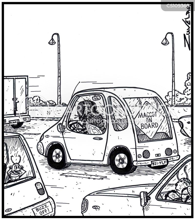 car signs cartoon
