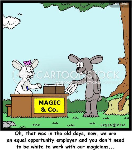 white rabbits cartoon