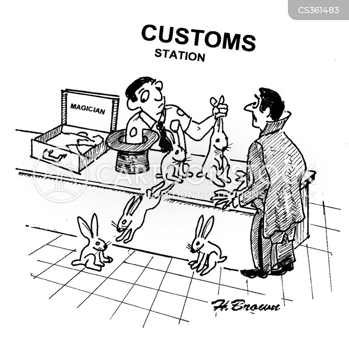 nothing to declare cartoon