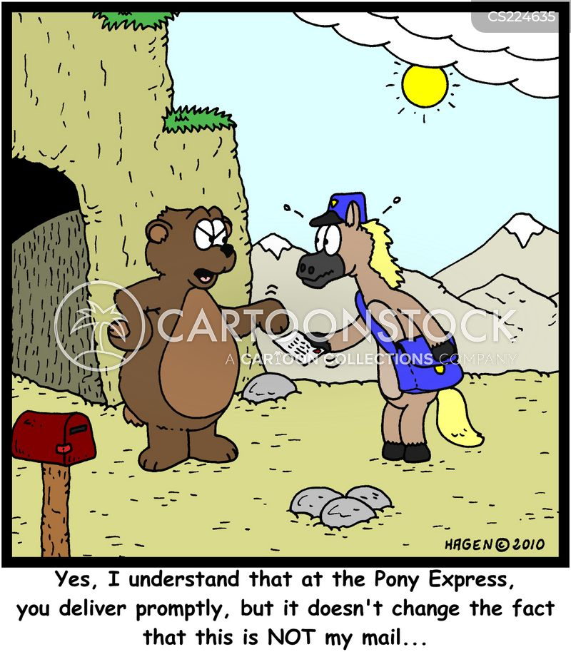 delivery mistakes cartoon