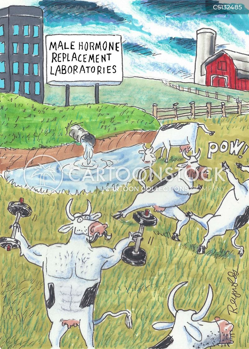 contamination cartoon