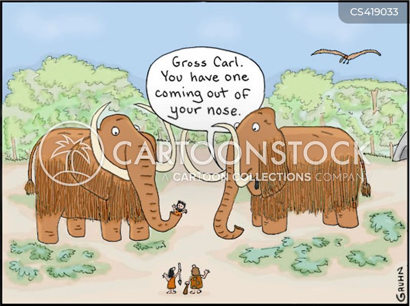 mastodon cartoon