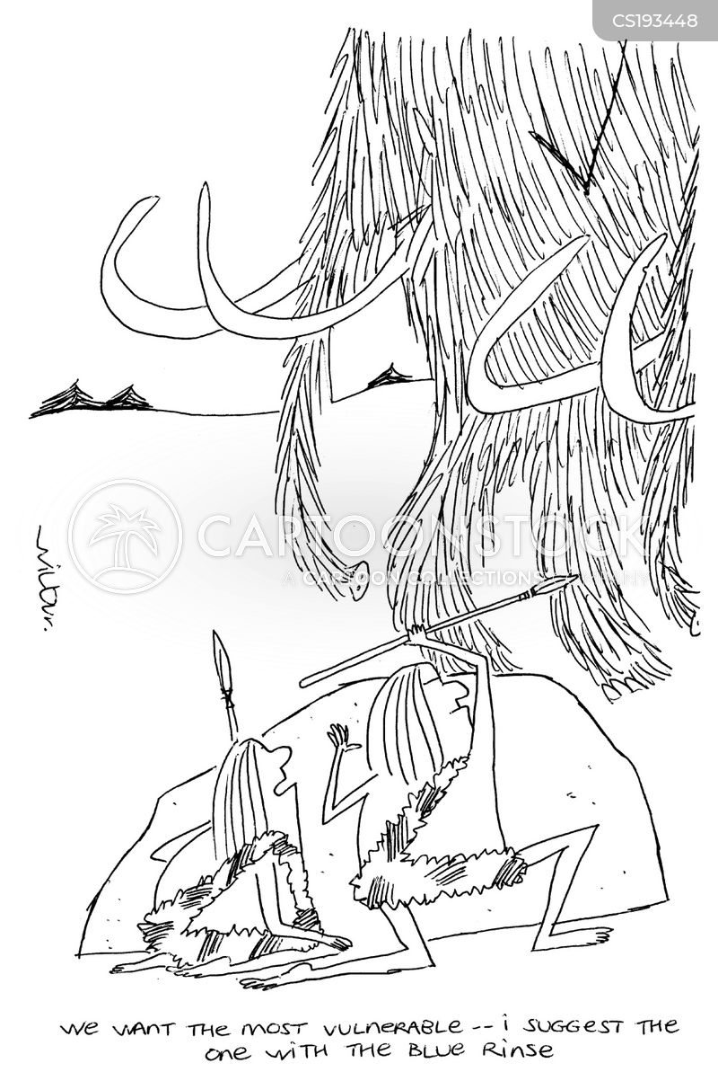 woolly mammoth cartoon
