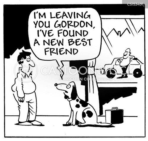 annoucements cartoon