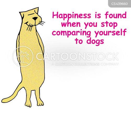 contentedness cartoon