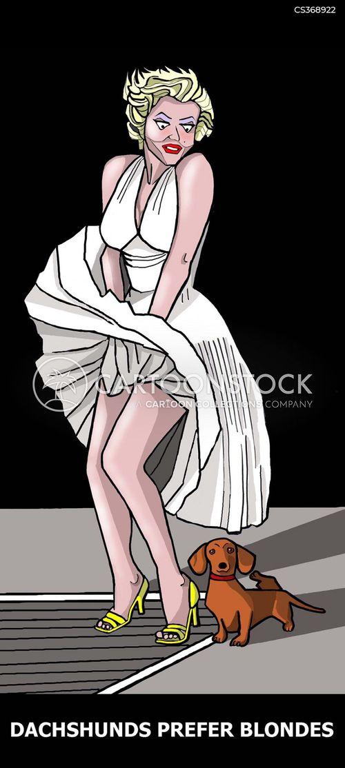 marilyn monroe cartoon