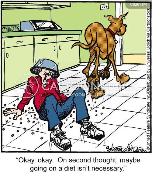 dog biscuit cartoon