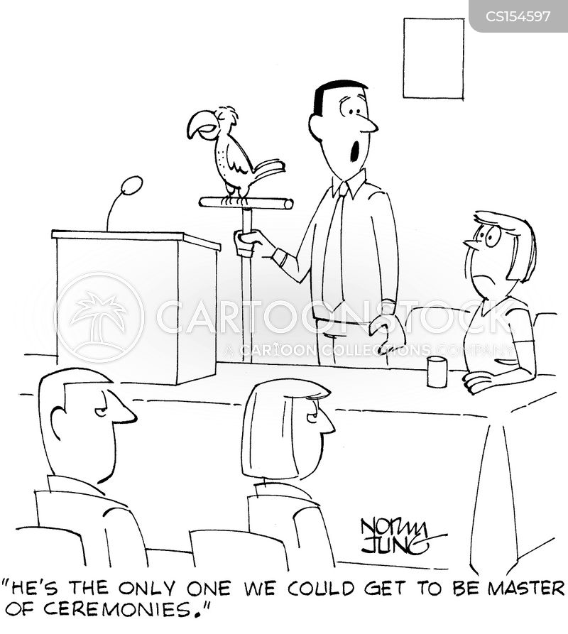 speech makers cartoon