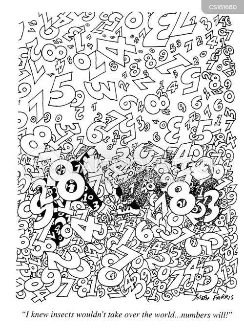 mathematic cartoon