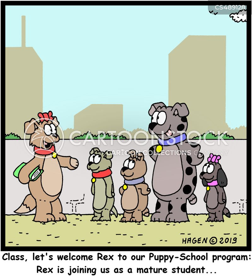 mature student cartoon