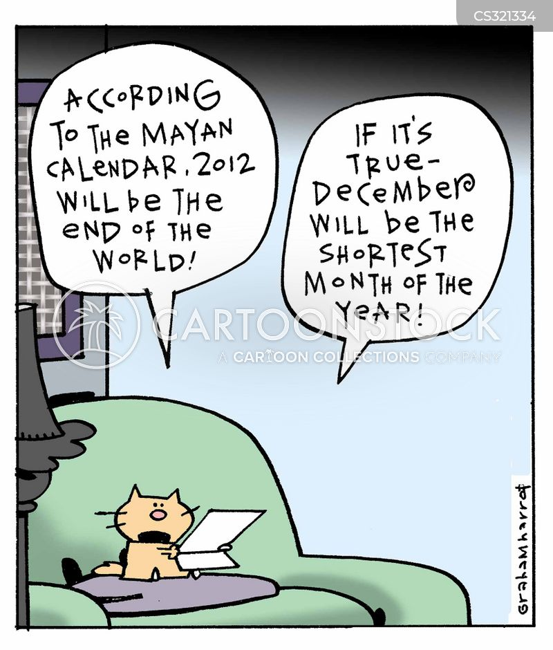 Mayan Calendar Cartoons and Comics - funny pictures from CartoonStock