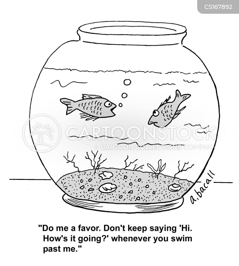aquarium cartoon