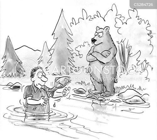 back to nature cartoon
