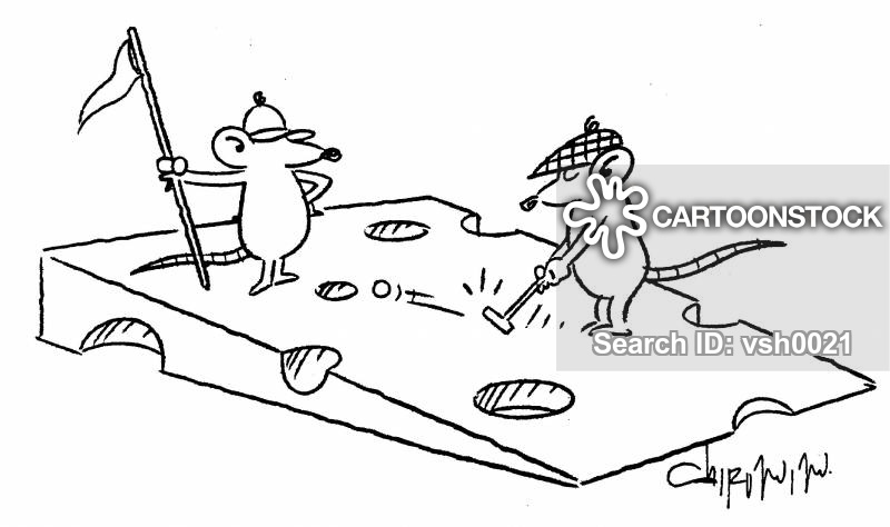 Miniature Golf Cartoons And Comics Funny Pictures From Cartoonstock