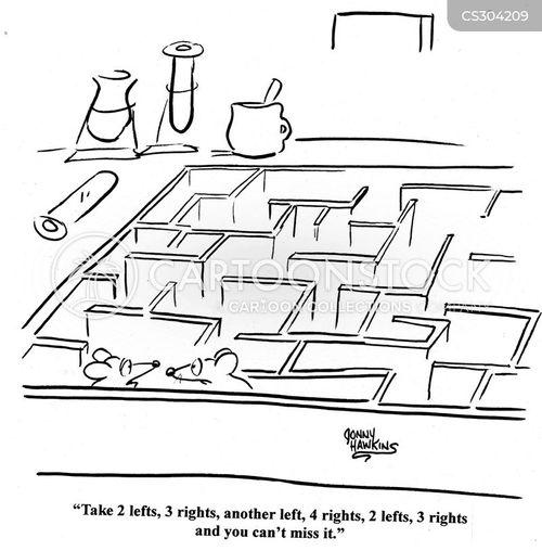 labratory mice cartoon