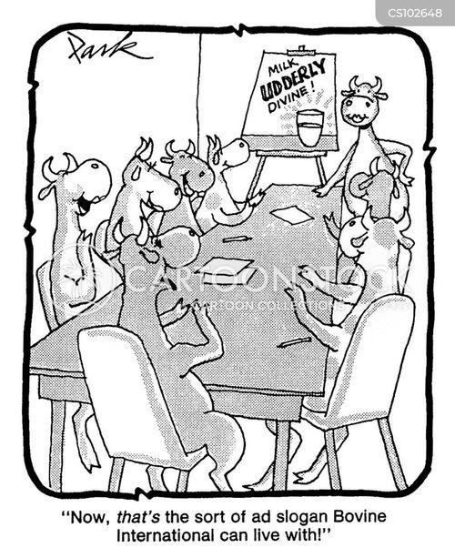 ad campaign cartoon