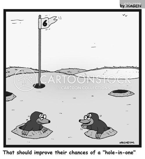 gophers cartoon