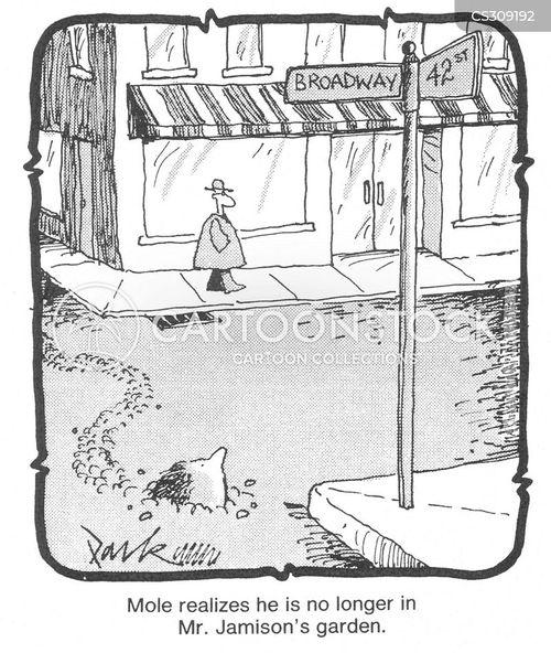 main street cartoon