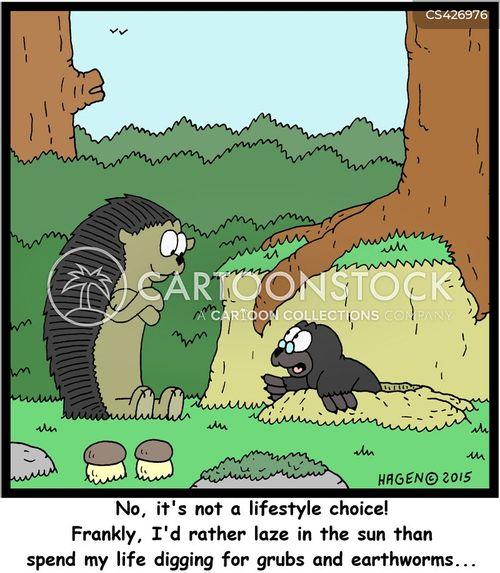 grub cartoon