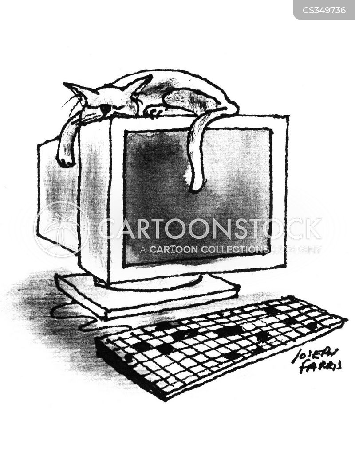 home pc cartoon